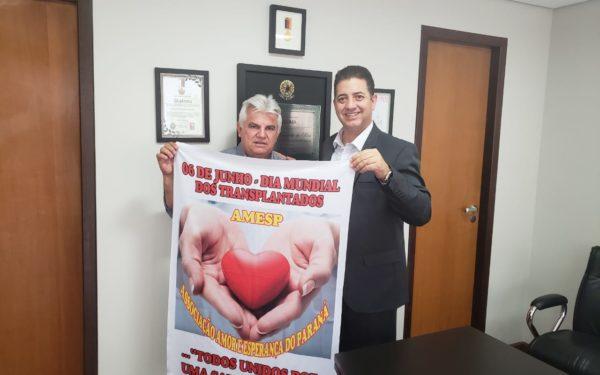 Vandercy Garcia Pereira - diretor social da Associação dos Transplantados Amor e Esperança